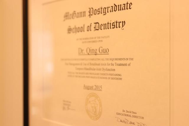 Dental certifications
