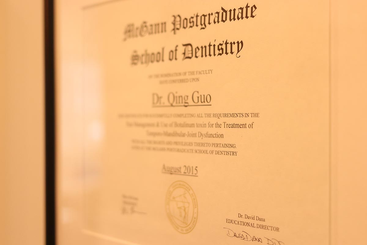 hearts-dental-practice-interior-dr-qing-qualifications