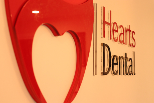 Hearts Dental's logo represents our purpose