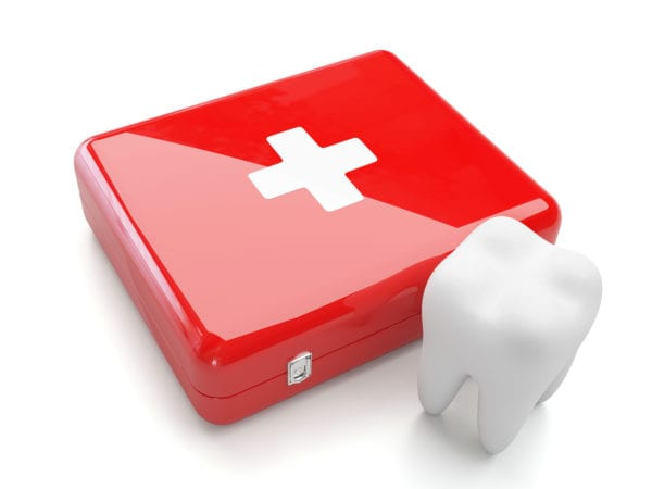Dental Care Kit & Tooth for emergencies