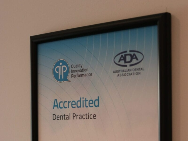 Our QIP dental practice accreditation
