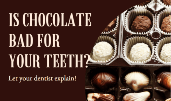 chocolate and teeth