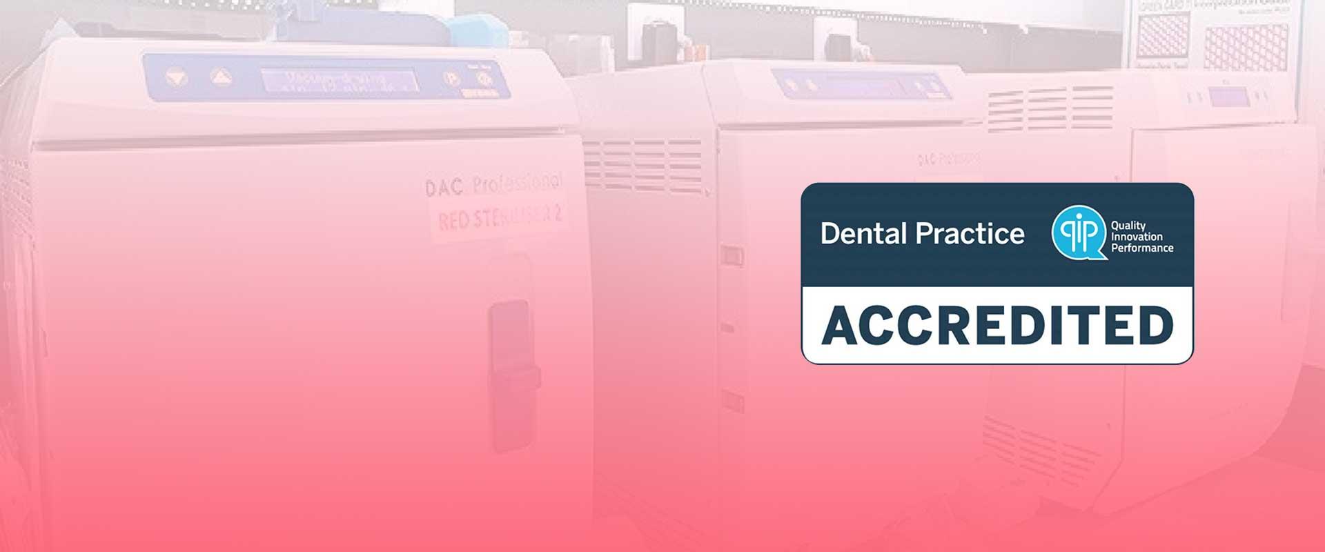 Hearts Dental in Blackburn is QIP accredited