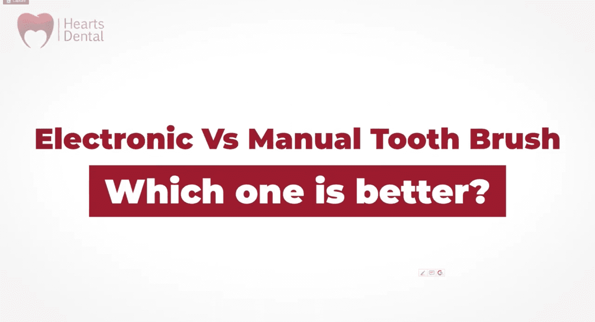 Manual vs Electric Tooth Brush